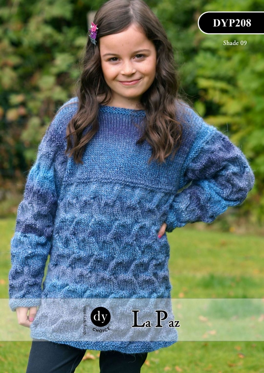 Aran Jumper Dress Knitting Pattern : DYP208 - DY CHOICE LA PAZ ARAN SWEATER TUNIC DRESS KNITTING PATTERN - TO FIT ...